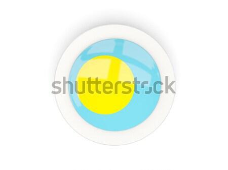 ボタン フラグ パラオ 金属 フレーム 旅行 ストックフォト © MikhailMishchenko