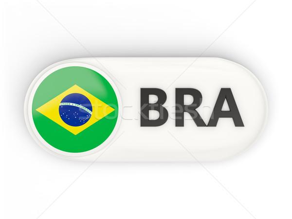 Zdjęcia stock: Ikona · banderą · Brazylia · iso · kodu · kraju