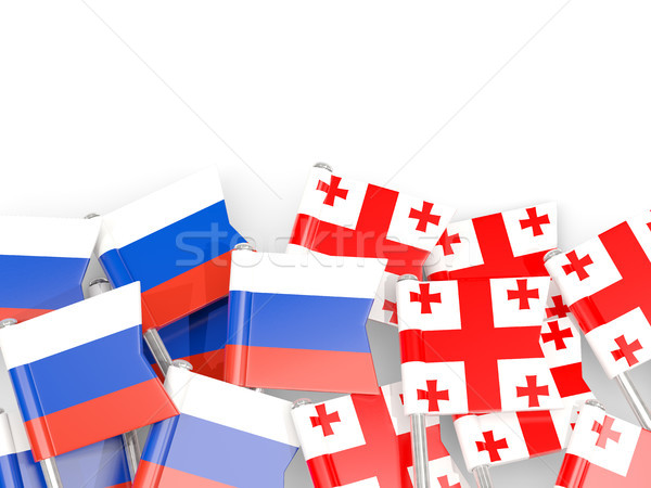 флаг изолированный белый 3d иллюстрации язык политику Сток-фото © MikhailMishchenko