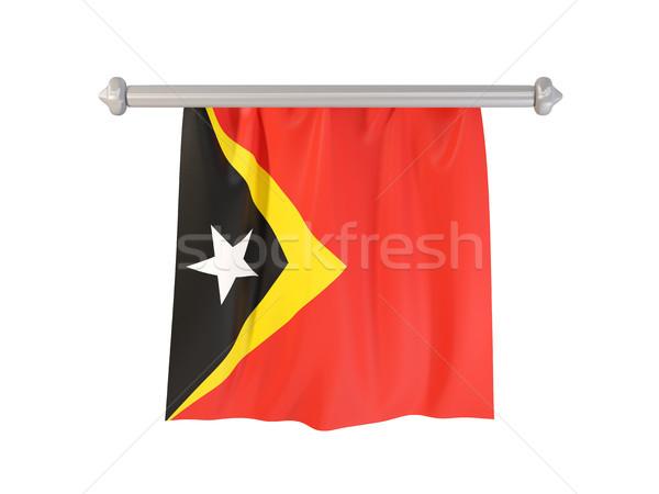 Pennant with flag of east timor Stock photo © MikhailMishchenko