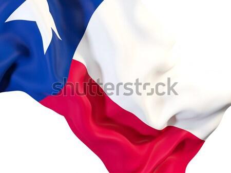 Texas zászló közelkép Egyesült Államok helyi zászlók Stock fotó © MikhailMishchenko