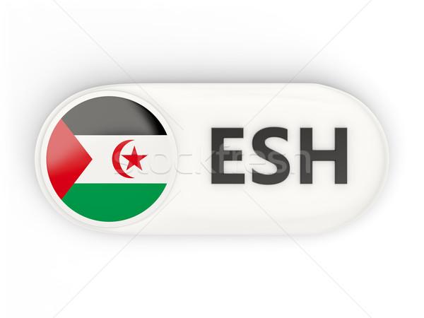 икона флаг западной Сахара iso Код Сток-фото © MikhailMishchenko