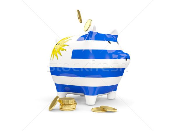 脂肪 貯金 ウルグアイ お金 孤立した 白 ストックフォト © MikhailMishchenko