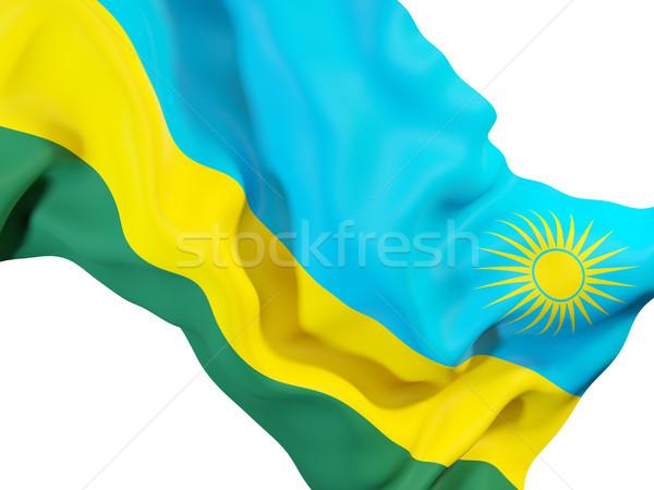 Pavillon Rwanda 3d illustration Voyage Photo stock © MikhailMishchenko