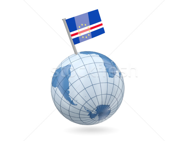 Globe with flag of cape verde Stock photo © MikhailMishchenko