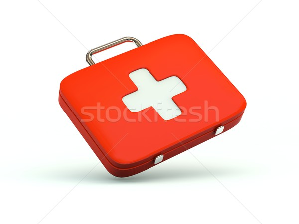 First aid kit icon Stock photo © MikhailMishchenko