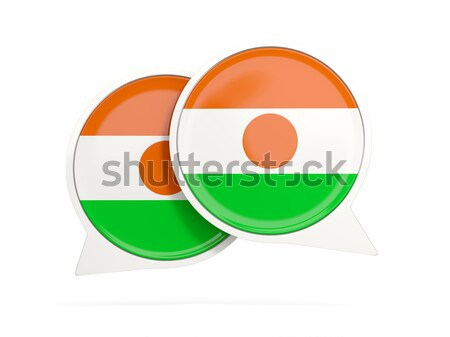 Round icon of flag of niger Stock photo © MikhailMishchenko