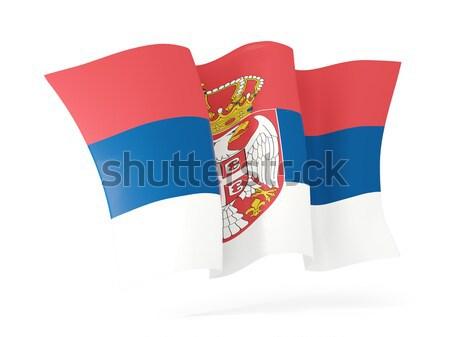 Missouri bandeira ícone Estados Unidos Foto stock © MikhailMishchenko