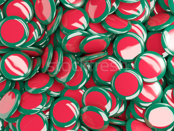 Bandeira Bangladesh fundo país pin círculo Foto stock © MikhailMishchenko