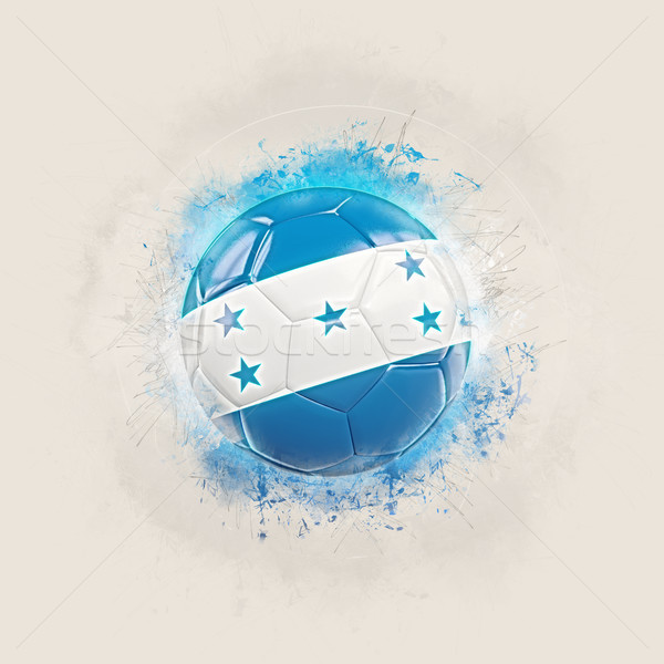 Grunge calcio bandiera Honduras illustrazione 3d mondo Foto d'archivio © MikhailMishchenko