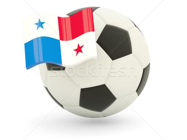 サッカー フラグ パナマ 孤立した 白 スポーツ ストックフォト © MikhailMishchenko