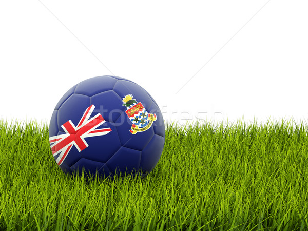 Football with flag of cayman islands Stock photo © MikhailMishchenko