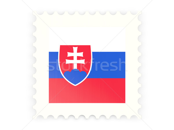 Postage stamp icon of slovakia Stock photo © MikhailMishchenko