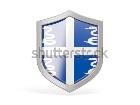 Shield icon with flag of finland Stock photo © MikhailMishchenko