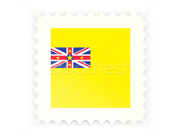Postage stamp icon of niue Stock photo © MikhailMishchenko