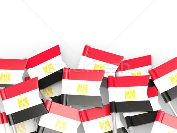 Flag pin of egypt Stock photo © MikhailMishchenko