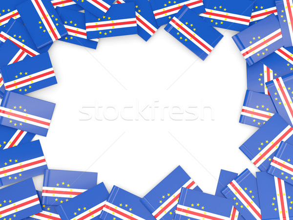 Frame with flag of cape verde Stock photo © MikhailMishchenko