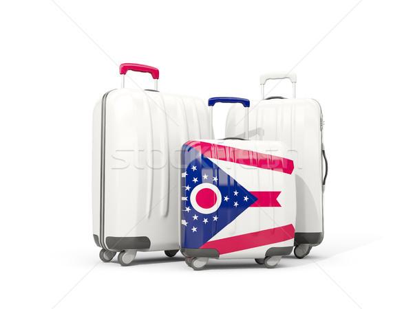 Csomagok zászló Ohio három szatyrok Egyesült Államok Stock fotó © MikhailMishchenko