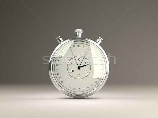 Isolated stopwatch Stock photo © MikhailMishchenko