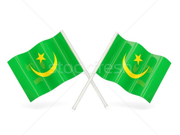 Flag of mauritania Stock photo © MikhailMishchenko
