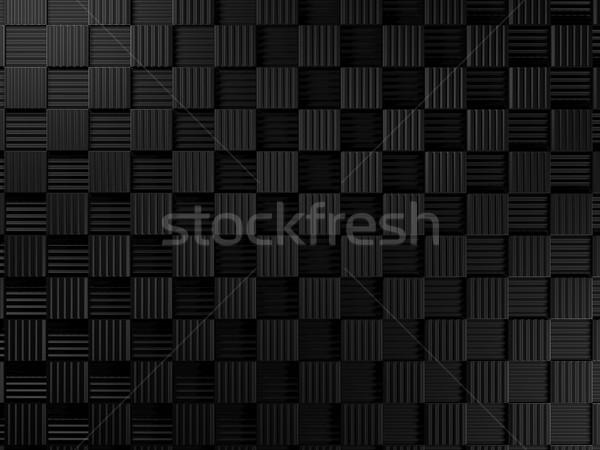 Czarny metal tekstury tle Język przemysłu Zdjęcia stock © MikhailMishchenko