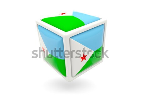Square icon with flag of comoros Stock photo © MikhailMishchenko