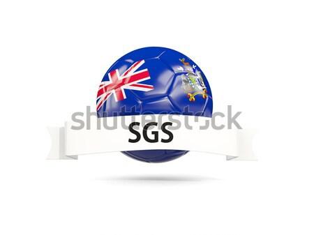 Futball zászló Új-Zéland 3d illusztráció futball sport Stock fotó © MikhailMishchenko