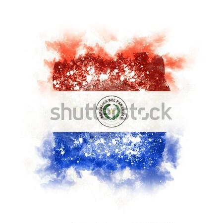 Tér grunge zászló Nicaragua 3d illusztráció retro Stock fotó © MikhailMishchenko