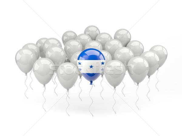 Air balloons with flag of honduras Stock photo © MikhailMishchenko