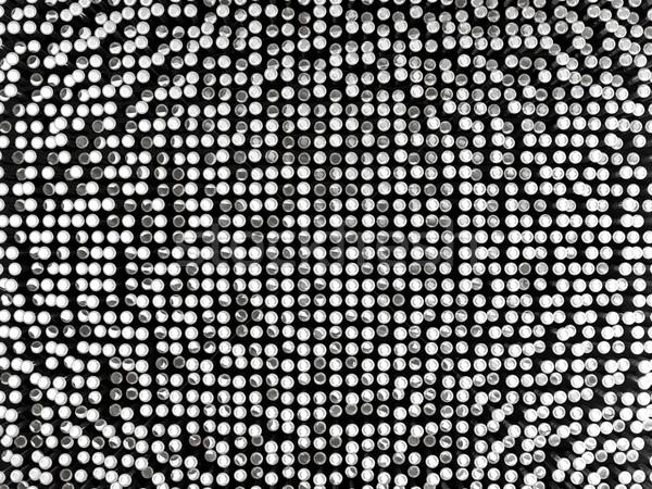 Biały metal pasiasty tekstury tle przemysłu Zdjęcia stock © MikhailMishchenko
