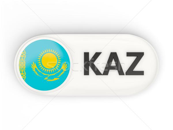 Symbol Flagge Kasachstan iso Code Land Stock foto © MikhailMishchenko