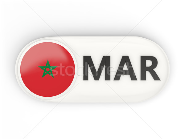 ícone bandeira Marrocos iso código país Foto stock © MikhailMishchenko