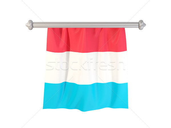 Pennant with flag of luxembourg Stock photo © MikhailMishchenko