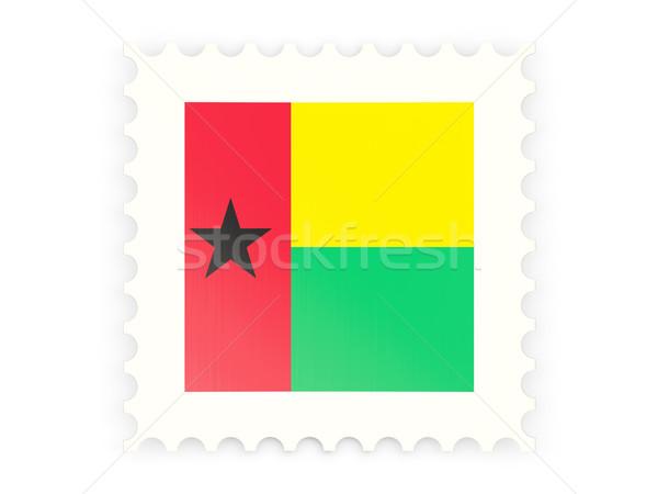 Postage stamp icon of guinea bissau Stock photo © MikhailMishchenko