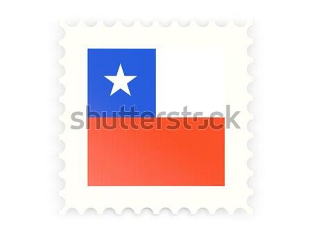 почтовая марка икона Гондурас изолированный белый почты Сток-фото © MikhailMishchenko