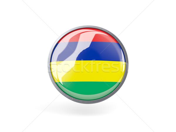 икона флаг Маврикий металл кадр путешествия Сток-фото © MikhailMishchenko