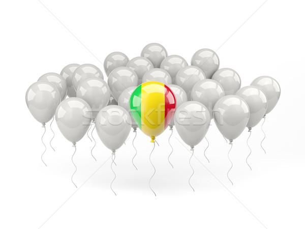 Air balloons with flag of mali Stock photo © MikhailMishchenko