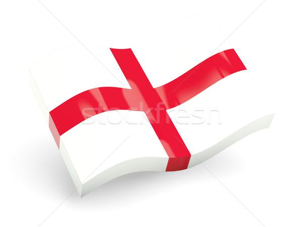 Stock photo: 3d flag of england