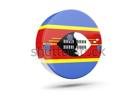 Round icon of flag of zimbabwe Stock photo © MikhailMishchenko