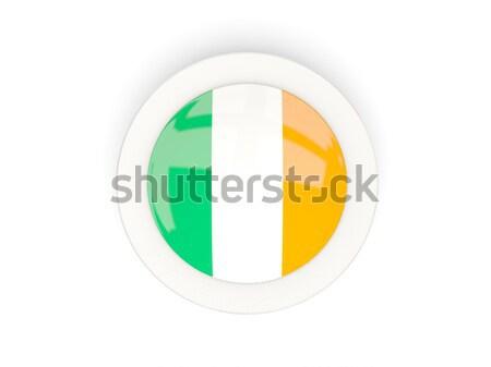 Icon vlag Ierland metaal frame reizen Stockfoto © MikhailMishchenko