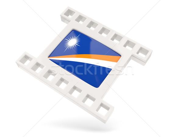 Movie icon with flag of marshall islands Stock photo © MikhailMishchenko