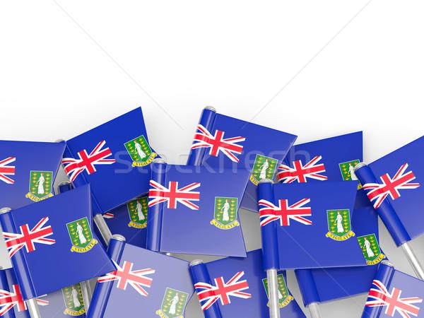 флаг Pin Виргинские о-ва британский флаг британский изолированный Сток-фото © MikhailMishchenko