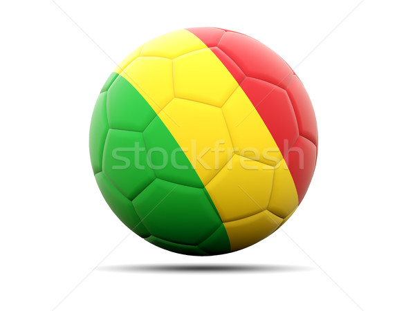 Football with flag of mali Stock photo © MikhailMishchenko