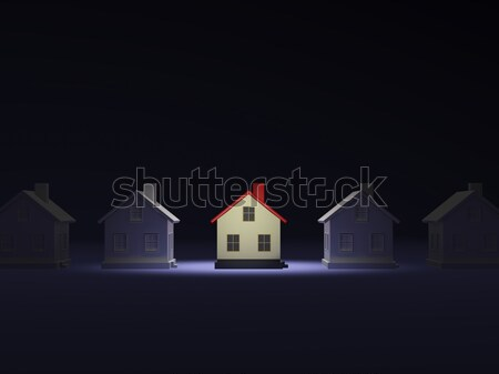 House in the light  Stock photo © MikhailMishchenko
