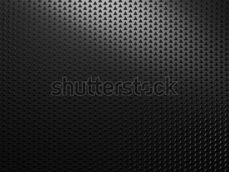 Black abstract metall background Stock photo © MikhailMishchenko