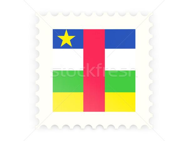 почтовая марка икона центральный африканских республика изолированный Сток-фото © MikhailMishchenko