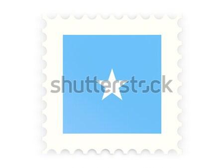 Placu ikona banderą Somali metal ramki Zdjęcia stock © MikhailMishchenko
