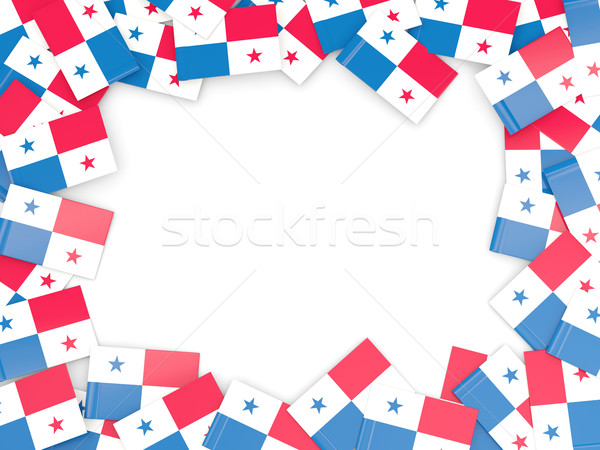 Frame with flag of panama Stock photo © MikhailMishchenko