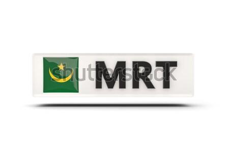 Liefde Myanmar teken geïsoleerd witte vlag Stockfoto © MikhailMishchenko