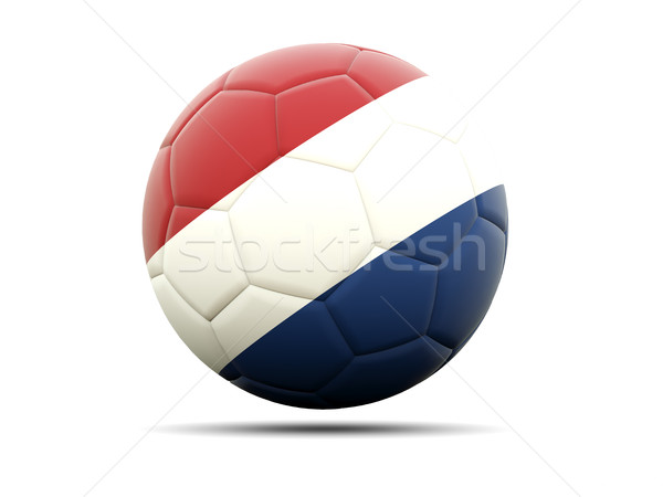 Football with flag of netherlands Stock photo © MikhailMishchenko